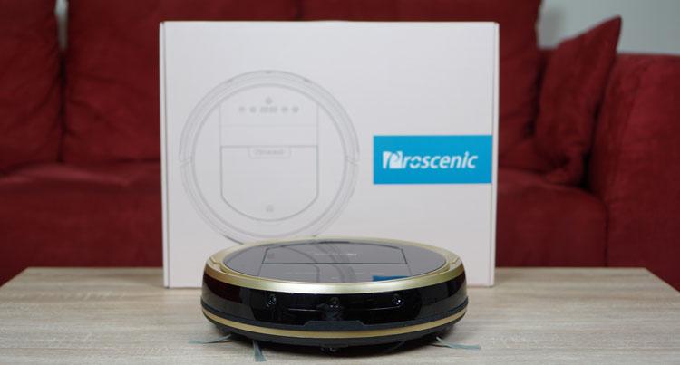 Test de l'aspirateur robot Wifi Proscenic 790T : prix et