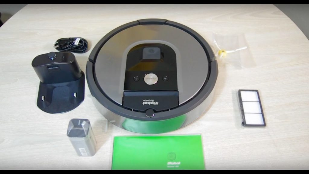 Irobot Roomba 960 - Test.